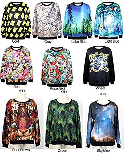 Femmes Mode Imprimer Or Chemises À Sweat Pull Automne Confortable Sweatshirts Col Bolawoo Hiver Manches Longues Élégant Marque Casual Shirt Sport Rond AYdnv