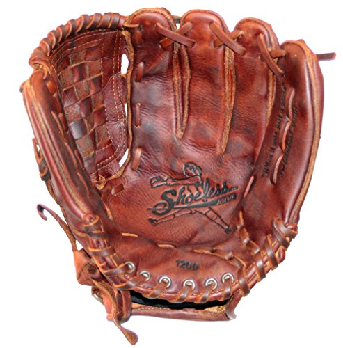 Diamond Ready Baseball Gloves Shoeless Jane 12'' Fast Pitch Basket Weave Pocket Glove (Right Hand Throw)