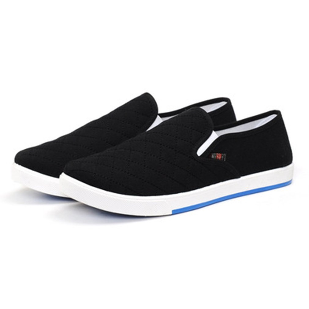 hibote Homme Femme Casual Chaussures Respirant Sneaker Mocassin Unisexe Chaussures Plates Chaussures de Travail Chaussures Classique Slip-on Low-Top 39-44