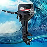 CNCEST Outboard Motor Boat Engine 169CC 8.8KW 12HP