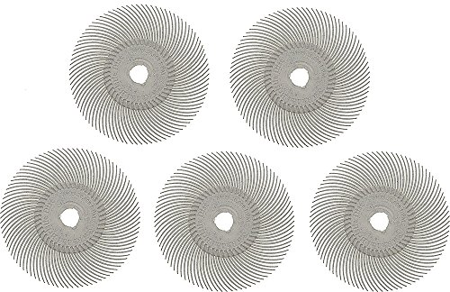 3M Radial Disc 3in, 120G (White) - PK/5 - BRS-595.40 by EuroTool by EuroTool