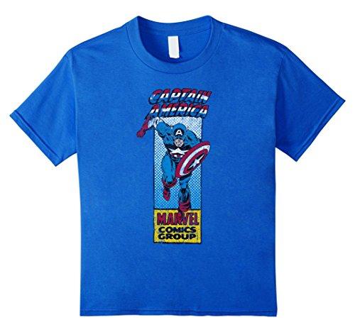 Marvel+Comics+Retro+Shirt Products : Marvel Captain America Avengers Retro Graphic T-Shirt