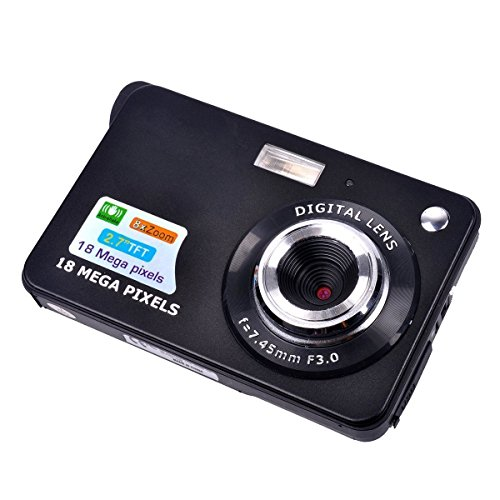 Digital Camera,Prodico 2.7 Inch TFT LCD Mini HD Digital Camera Video Camcorder
