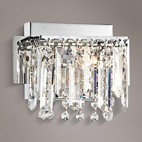 Outlet Possini Euro Design Hanging Crystal 7 34 Wide Bath Light
