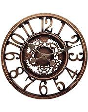 Baoblaze Outdoor/Indoor Wall Clock Waterproof, Silent Non Ticking 12 Inch Clock Decor Clock for Patio, Garden, Pool or Hanging Outside