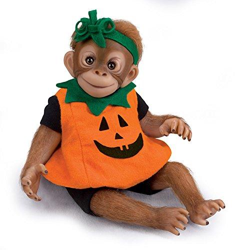 - The Ashton-Drake Galleries Amy Ferreria Daisy Our Li'l Pumpkin Lifelike Monkey Doll