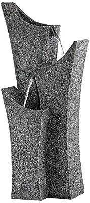 "Exton 31"" High Gray Stone Indoor/Outdoor Three Tier Fountain"