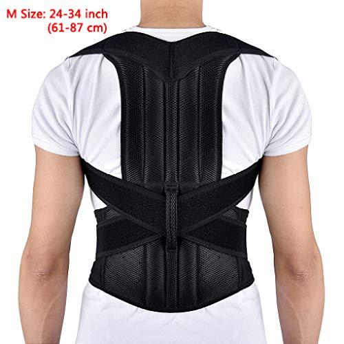 (Adjustable Back Posture Corrector Clavicle Spine Shoulder Lumbar Brace Support Correction Belt Children Adult)