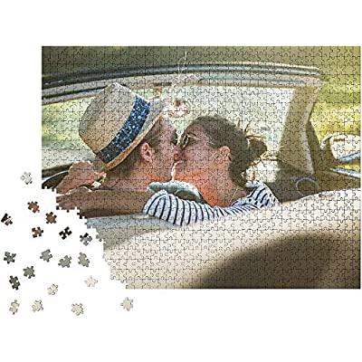 Custom Photo Jigsaw Puzzle for Adults and Children1000 Pieces - Personalized Customized Photo Puzzles Gift for Kids Mother's Day DIY Stay at Home Wedding Gifts Family Love Friends: Toys & Games