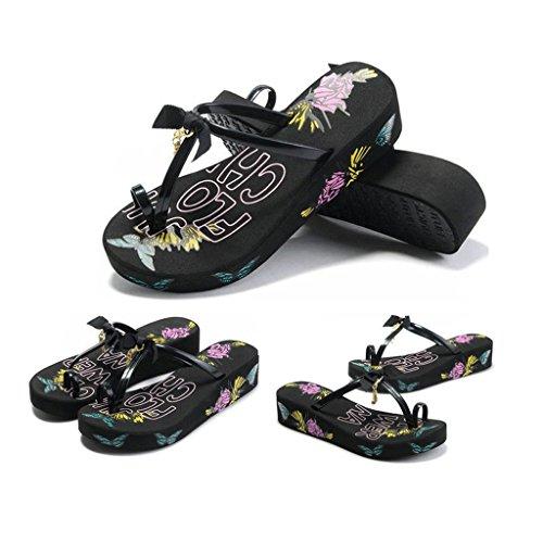 Tempo Suola Libero Summer Donna dimensioni Sandals Fashion 232mm Pantofole Of 35 Versione Spessa The Con v0qpScn