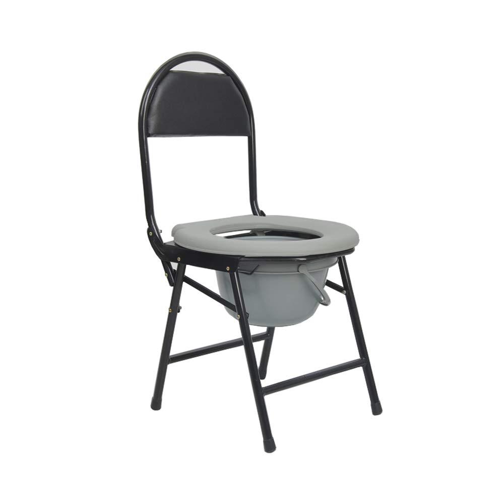 Foldable Toilet Seat- Stainless Steel Non-Slip Comfortable Toilet Seat, Safe and Stable, Suitable for The Elderly Pregnant Women, Etc by SSZZ