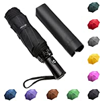 Fidus Inverted Reverse Sun&Rain Car Umbrella Large Windproof Travel UV Umbrella Women Men - Auto Open Close
