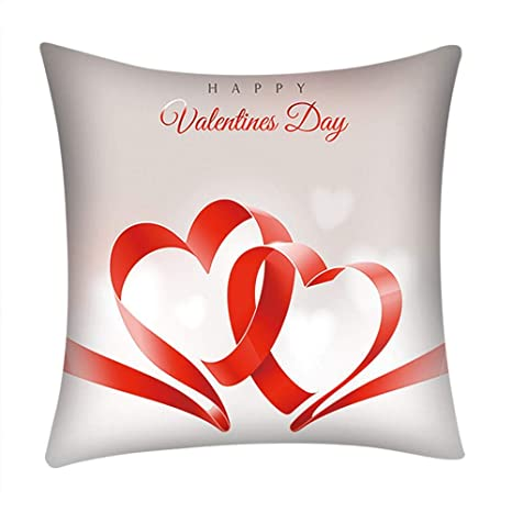 Holatee Funda de Cojín Dia de San Valentin Duradero ...