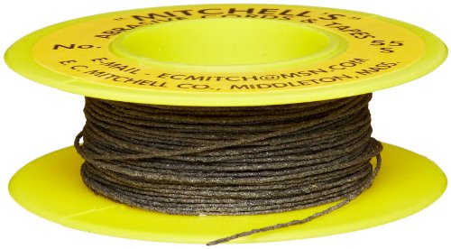 Mitchell Abrasives 55-S Round Abrasive Cord, Silicon Carbide 200 Grit .018