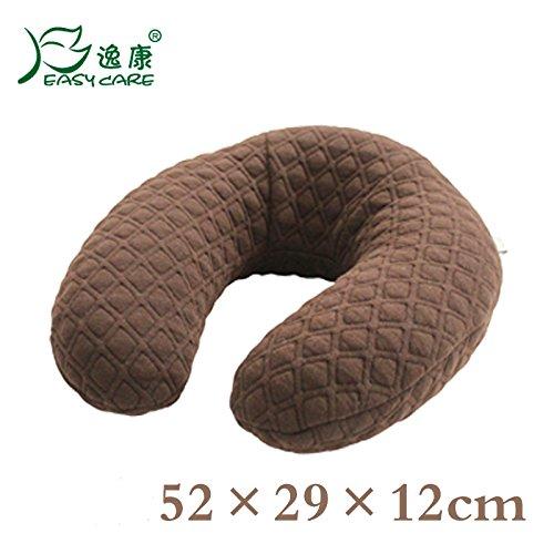 Travel Pillow Memory Foam Nap Pillow U Shape Airplane Neck Pillow by EasyCare