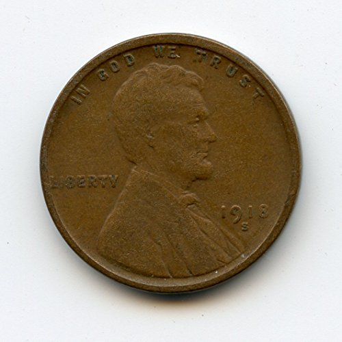 1918 S Lincoln Cent XF-40