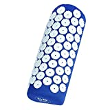 DG Sports Acupressure Pillow Acupuncture Pillow- Neck Pain-Accupressure Spike, Blue, 9 Ounce