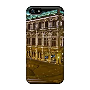 OscarAPaz Perfect Tpu Case For Iphone 5/5s/ Anti-scratch Protector Case (the Albertina Museum In Vienna)
