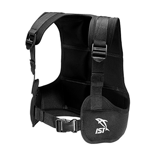 IST VSA0240 Free Diving/Apnea Weight Vest, Holds Up to 35lbs. (Large)