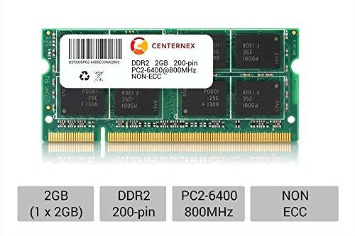 200 Pin Sodimm Acer Aspire (2GB SODIMM Acer Aspire 5330 5332 5335 5515 5516 5517 5532 5534 Ram Memory by CENTERNEX)