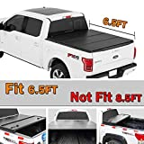 Spead-Vmall Hard Tri-Fold Pickup Tonneau Cover Fits For 2016 2017 2018 Ford F150