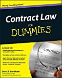 img - for Contract Law For Dummies by Scott J. Burnham (2011-12-06) book / textbook / text book
