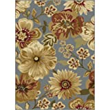 Rugs Carly Transitional Area Rug,5 x7
