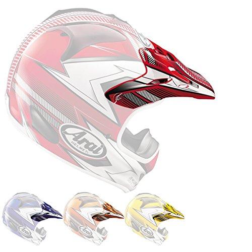 Arai VX-Pro3 Nitrous Helmet Visor Red by Arai (Image #4)