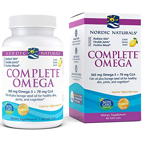 Total Efa Womens Formula - Nordic Naturals - Complete Omega, Supports Healthy Skin, Joints, and Cognition, 60 Soft Gels