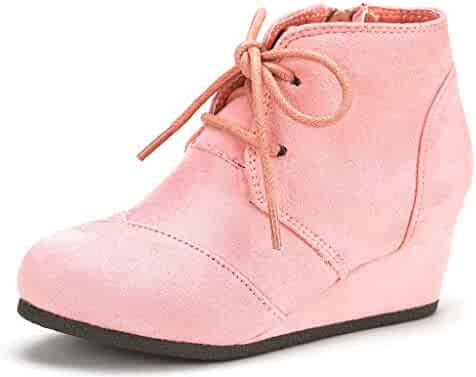 82f8202ebfcb Faded Glory Girls Baby Toddler Preschool Pink Western Cowgirl Boots w/Glitter  Star. (0). DREAM PAIRS Toddler/Little Kid/Big Kid Girl's Low Wedge Heel ...