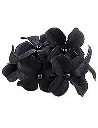 Flower Banana Barrette Hair Clip Fashion Handmade Hair Pin Claw for Women