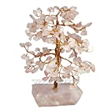Rose Quartz Feng shui Gemstone Tree Vedic Vaani
