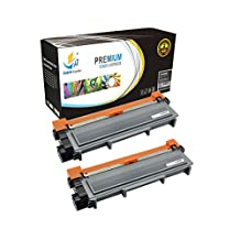 Catch Supplies Replacement TN660 High Yield Black Toner Cartridge 2 Pack |2,600 yield| Replaces Brother TN-660, compatible with the HL-L2300,L2320,L2340, DCP-L2500,L2520,L2540, MFC-L2700,L2720,L2740