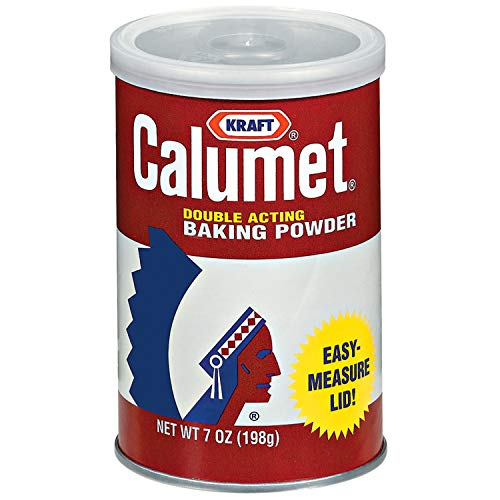 Calumet Double Acting Baking Powder (7 oz Tin) (Baking Powder Or Baking Soda For Cake)