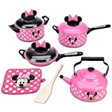 Disney Store Minnie Mouse Kitchen Play Set Pots n Pans Cooking Set Kitchen by Disney Interactive Studios