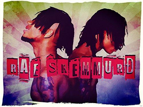 Rae Sremmurd Painting Swae Lee Slim Jxmmi Retro Vintage Art Hip-Hop Rap Music 24x18 Poster Print