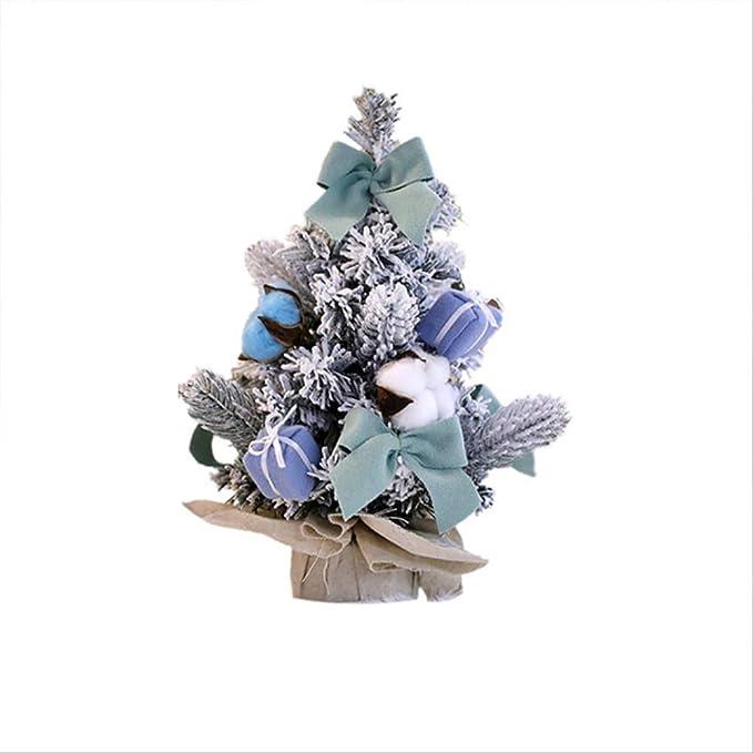 CHHGS Mini Christmas treeMini Árbol De Navidad Pequeño Pino Pino ...