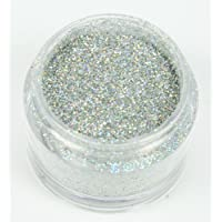 Holly Cupcakes Decorating Glitter: Silver Hologram