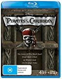 Pirates of the Caribbean Quadrilogy (Curse of the Black Pearl/Dead Man's Chest/At World's End/On Stranger Tides)