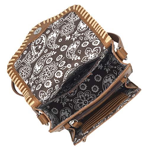 American Purse Light Wallet Bundle Crossbody West Bandana Bag Alamos Los Tan PwxPrOX