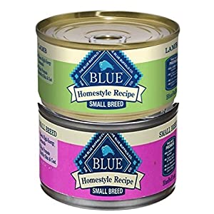 Blue Buffalo BLUE Homestyle Recipe Small Breed Wet Dog Food, 5.5 Ounces (Pack of 8) 110