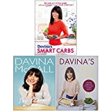 Davina McCall Collection 3 Books Set (Davina's Smart Carbs, Lessons Ive Learned [Hardcover], Davina's Kitchen Favourites [Hardcover])