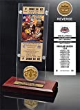NFL St. Louis Rams Super Bowl XXXIV Ticket and Game Coin Acrylic Display
