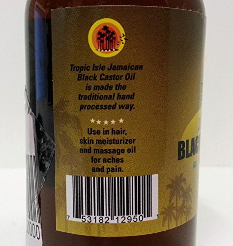 TROPIC-ISLE-LIVING-JAMAICAN-BLACK-CASTOR-OIL-HEALING-100-NATURAL-4OZ-8OZ