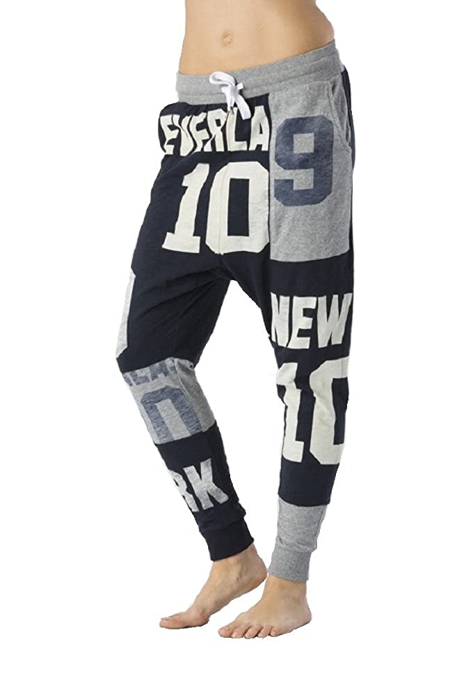 Everlast Pantaloni jersey fiammato donna con grafiche all over 24W657J51