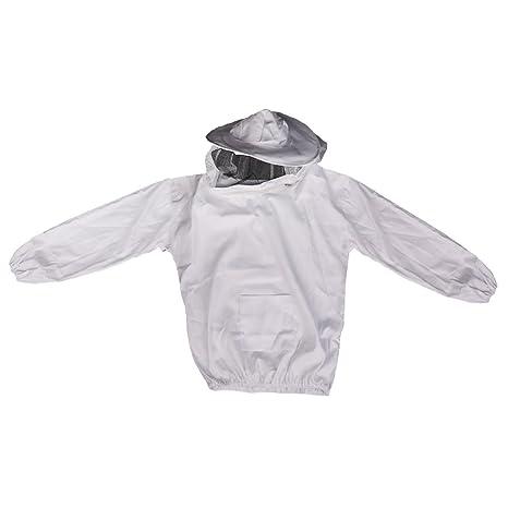 Chaqueta Traje De Apicultura Velo Abeja Equipos Vestido Beekeeping Jacket
