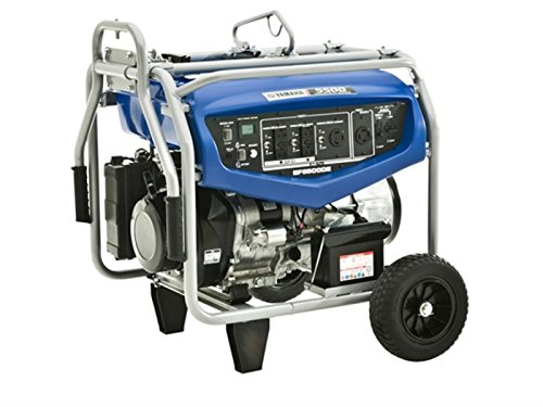 Yamaha EF5500DE Starting Portable Generator