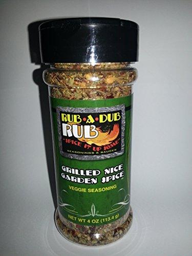 RUB A DUB RUB Grilled Nice Garden Spice Seasoning, 4 Ounce ()