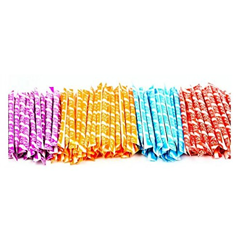 100 WONKA PIXY STIX SUGAR STRAWS CANDY ASSORTED FLAVORS