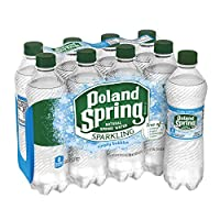 8-Pack of Sparkling Poland Spring Brand Natural Spring Water